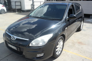 2009 Hyundai i30 FD MY09 SLX Black 5 Speed Manual Hatchback.