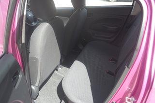 2013 Mitsubishi Mirage LA MY14 ES Pink 1 Speed Constant Variable Hatchback