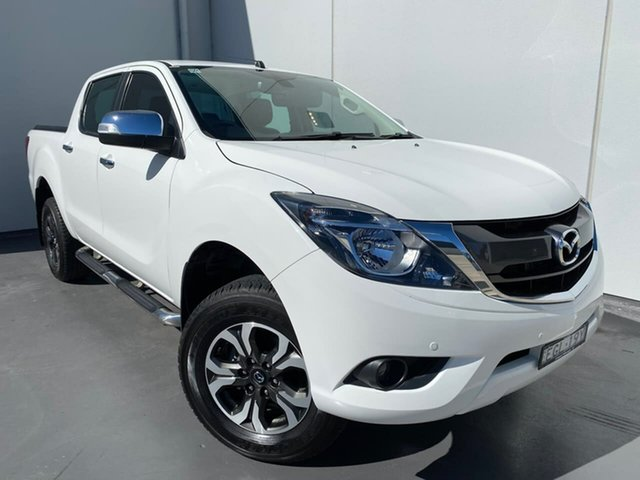 Used Mazda BT-50 UR0YG1 GT Liverpool, 2018 Mazda BT-50 UR0YG1 GT White 6 Speed Sports Automatic Utility