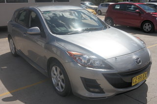 2009 Mazda 3 BL10F1 Maxx Activematic Sport Silver 5 Speed Sports Automatic Hatchback.