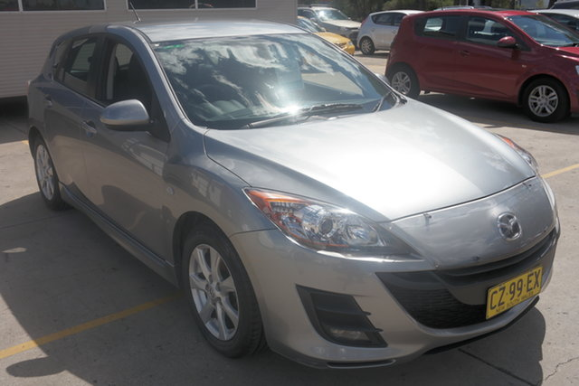 Used Mazda 3 BL10F1 Maxx Activematic Sport Maryville, 2009 Mazda 3 BL10F1 Maxx Activematic Sport Silver 5 Speed Sports Automatic Hatchback