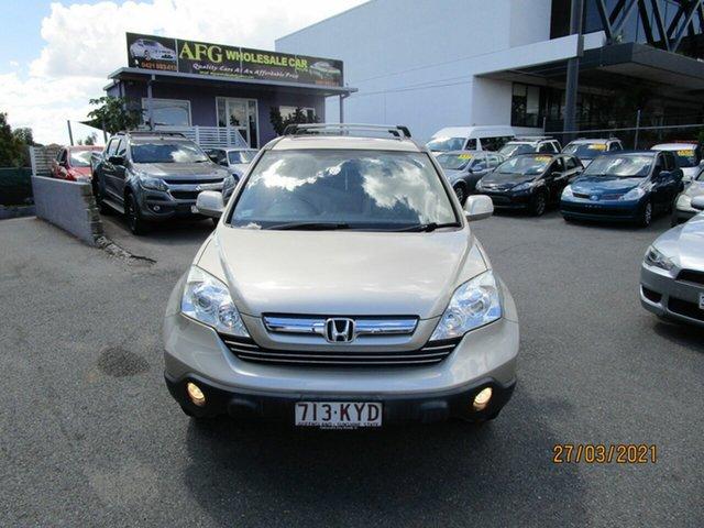 Used Honda CR-V MY07 (4x4) Luxury Coorparoo, 2008 Honda CR-V MY07 (4x4) Luxury 5 Speed Automatic Wagon