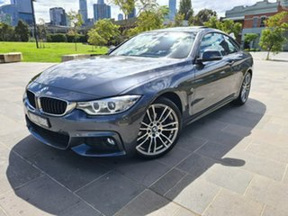 2016 BMW 4 Series F32 420i M Sport Grey 8 Speed Sports Automatic Coupe.