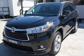 2016 Toyota Kluger GSU55R Grande AWD Black 6 Speed Sports Automatic Wagon.