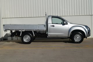 2012 Isuzu D-MAX MY12 SX Silver 5 Speed Manual Cab Chassis.