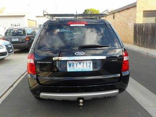 2008 Ford Territory SY MY07 Upgrade Ghia (RWD) Black 4 Speed Auto Seq Sportshift Wagon