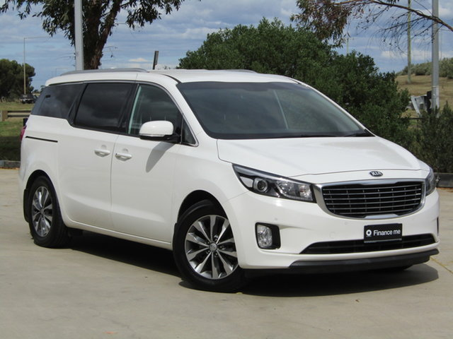 Used Kia Carnival YP MY16 SLi Ravenhall, 2016 Kia Carnival YP MY16 SLi White 6 Speed Sports Automatic Wagon