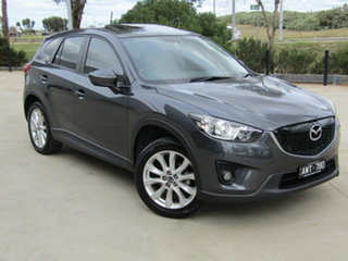 2013 Mazda CX-5 KE1031 MY13 Grand Touring SKYACTIV-Drive AWD Grey 6 Speed Sports Automatic Wagon.