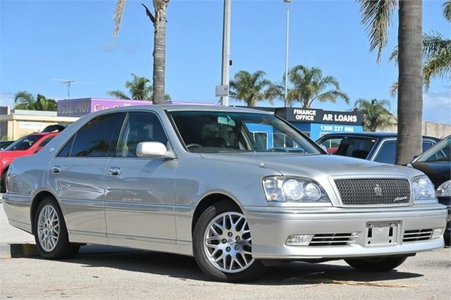 Used Toyota Crown Cheltenham, 1999 Toyota Crown JZS171 Athlete V Silver 4 Speed Automatic Sedan