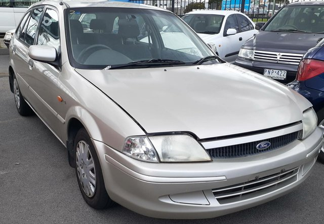 Used Ford Laser KN LXI Cheltenham, 2000 Ford Laser KN LXI Gold Silver 5 Speed Manual Hatchback