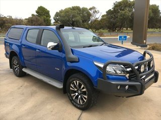 2017 Holden Colorado RG MY18 LTZ Pickup Crew Cab Power Blue 6 Speed Sports Automatic Utility.