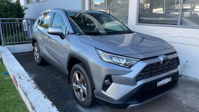 Demo Toyota RAV4 Mxaa52R GXL 2WD Brookvale, 2020 Toyota RAV4 Mxaa52R GXL 2WD Silver Sky 10 Speed Constant Variable Wagon