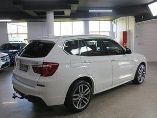 2015 BMW X3 F25 LCI MY0414 xDrive30d Steptronic Alpine White 8 Speed Sports Automatic Wagon