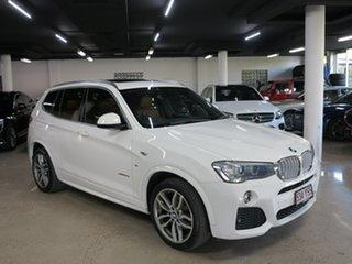 2015 BMW X3 F25 LCI MY0414 xDrive30d Steptronic Alpine White 8 Speed Sports Automatic Wagon.