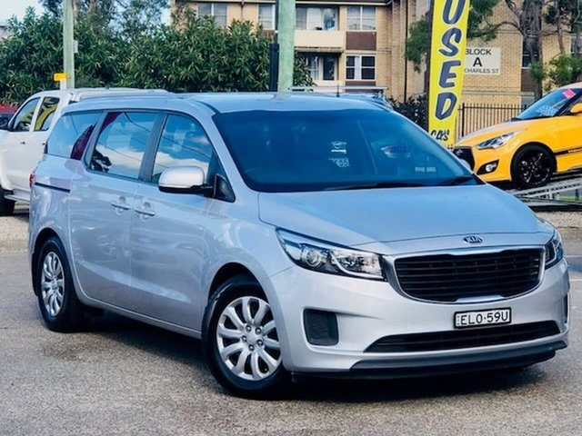 Used Kia Carnival YP MY17 S Liverpool, 2017 Kia Carnival YP MY17 S Silver 6 Speed Sports Automatic Wagon