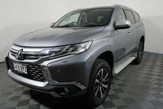 2016 Mitsubishi Pajero Sport QE MY16 Exceed Titanium Grey 8 Speed Sports Automatic Wagon