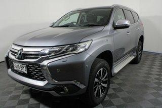 2017 Mitsubishi Pajero Sport QE MY17 Exceed Titanium Grey 8 Speed Sports Automatic Wagon.