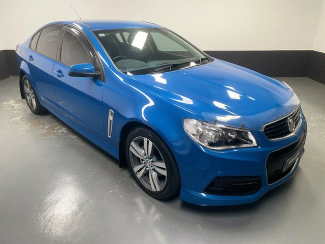 Used Holden Commodore VF MY14 SV6 Hamilton, 2013 Holden Commodore VF MY14 SV6 Blue 6 Speed Manual Sedan