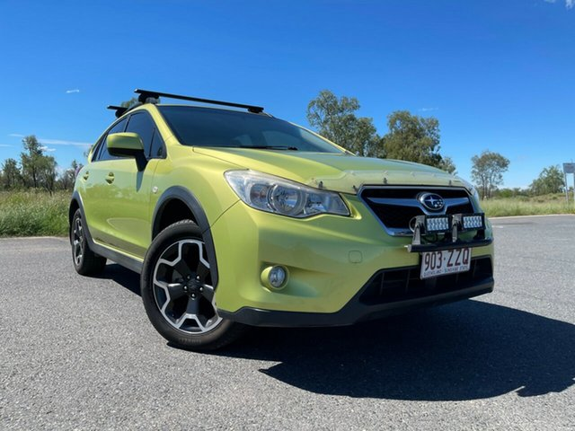 Used Subaru XV G4X MY14 2.0i Lineartronic AWD Emerald, 2014 Subaru XV G4X MY14 2.0i Lineartronic AWD Green 6 Speed Constant Variable Wagon