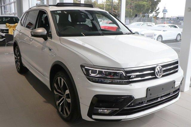 New Volkswagen Tiguan 5N MY21 162TSI Highline DSG 4MOTION Allspace Port Melbourne, 2021 Volkswagen Tiguan 5N MY21 162TSI Highline DSG 4MOTION Allspace White 7 Speed