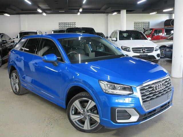 Used Audi Q2 GA MY17 Sport S Tronic Quattro Albion, 2017 Audi Q2 GA MY17 Sport S Tronic Quattro Blue 7 Speed Sports Automatic Dual Clutch Wagon