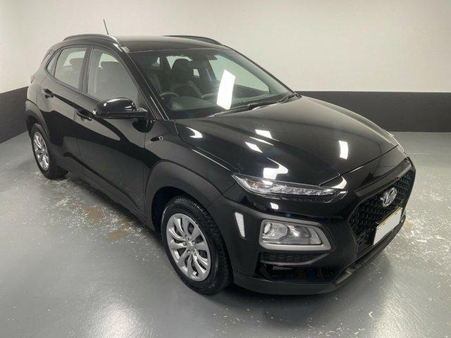 Used Hyundai Kona OS.2 MY19 Go 2WD Hamilton, 2019 Hyundai Kona OS.2 MY19 Go 2WD Black 6 Speed Sports Automatic Wagon