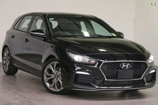 2021 Hyundai i30 PD.V4 MY21 N Line D-CT Phantom Black 7 Speed Sports Automatic Dual Clutch Hatchback.