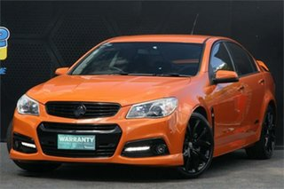 2014 Holden Commodore VF MY14 SS V Orange 6 Speed Sports Automatic Sedan.