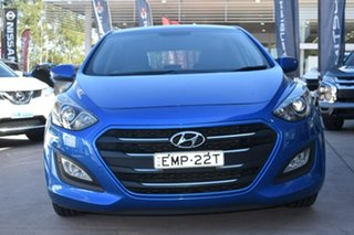 2015 Hyundai i30 GD3 Series II MY16 Active Blue 6 Speed Manual Hatchback