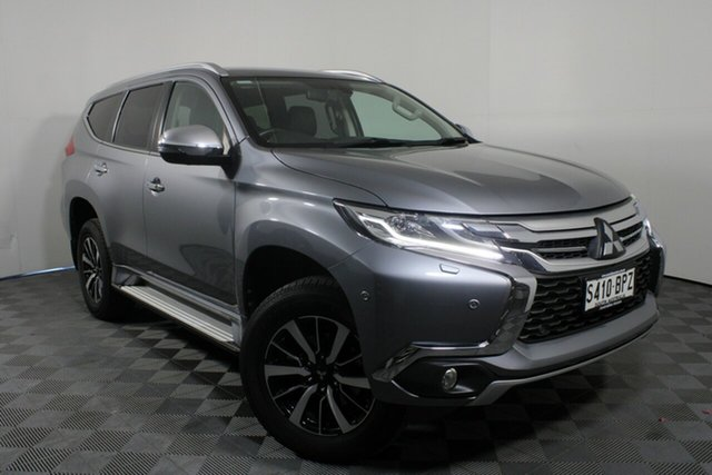 Used Mitsubishi Pajero Sport QE MY17 Exceed Wayville, 2017 Mitsubishi Pajero Sport QE MY17 Exceed Titanium Grey 8 Speed Sports Automatic Wagon