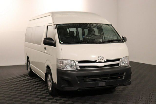 Used Toyota HiAce TRH223R MY11 Commuter High Roof Super LWB Acacia Ridge, 2012 Toyota HiAce TRH223R MY11 Commuter High Roof Super LWB French Vanilla 4 speed Automatic Bus