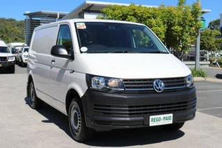 2018 Volkswagen Transporter T6 MY19 TDI340 SWB DSG White 7 speed Automatic Van.