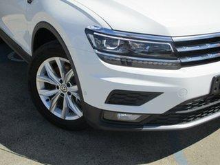 2019 Volkswagen Tiguan 5NA MY20 Allspace 132 TSI Comfortline Pure White 7 Speed Auto Direct Shift.