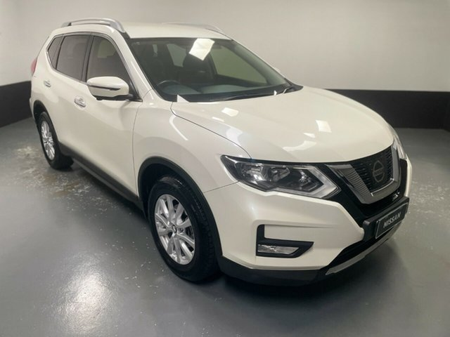 Used Nissan X-Trail T32 Series II ST-L X-tronic 2WD Hamilton, 2017 Nissan X-Trail T32 Series II ST-L X-tronic 2WD White 7 Speed Constant Variable Wagon