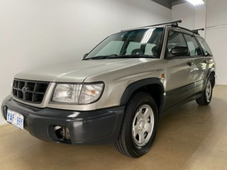 1999 Subaru Forester Limited Silver 4 Speed Automatic Wagon