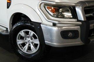 2010 Ford Ranger PK XLT Crew Cab White 5 Speed Manual Utility.