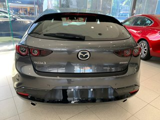 2021 Mazda 3 BP2H7A G20 SKYACTIV-Drive Evolve Machine Grey 6 Speed Sports Automatic Hatchback