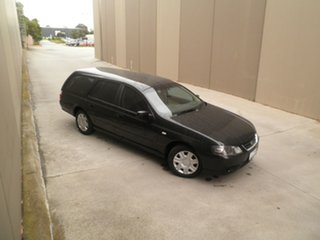 2010 Ford Falcon BF Mk III XT Silhouette 4 Speed Sports Automatic Wagon