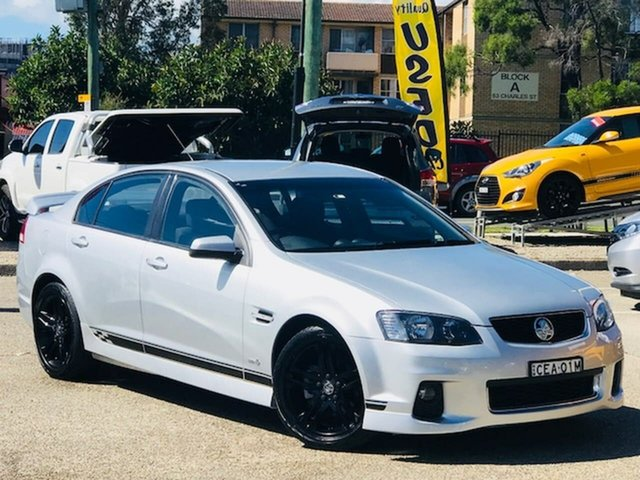Used Holden Commodore VE II SV6 Liverpool, 2011 Holden Commodore VE II SV6 Silver, Chrome 6 Speed Sports Automatic Sedan