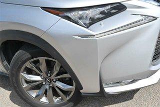 2015 Lexus NX AGZ15R NX200t F Sport Silver 6 Speed Sports Automatic Wagon.