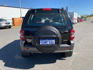 2006 Jeep Cherokee KJ MY05 Upgrade Sport (4x4) Onyx Black 4 Speed Automatic Wagon