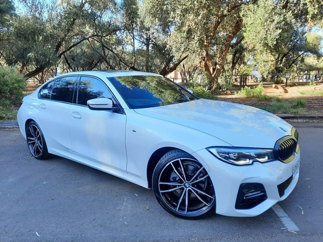 Used BMW 3 Series G20 320d Steptronic M Sport Adelaide, 2019 BMW 3 Series G20 320d Steptronic M Sport White 8 Speed Sports Automatic Sedan