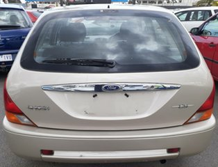 2000 Ford Laser KN LXI Gold Silver 5 Speed Manual Hatchback