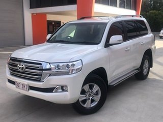 2020 Toyota Landcruiser VDJ200R GXL White 6 Speed Sports Automatic Wagon
