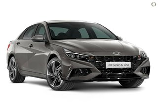 2021 Hyundai i30 CN7.V1 MY21 N Line D-CT Fluid Metal 7 Speed Sports Automatic Dual Clutch Sedan