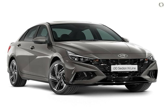 New Hyundai i30 CN7.V1 MY21 N Line D-CT Nailsworth, 2021 Hyundai i30 CN7.V1 MY21 N Line D-CT Fluid Metal 7 Speed Sports Automatic Dual Clutch Sedan