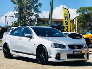 2011 Holden Commodore VE II SV6 Silver, Chrome 6 Speed Sports Automatic Sedan