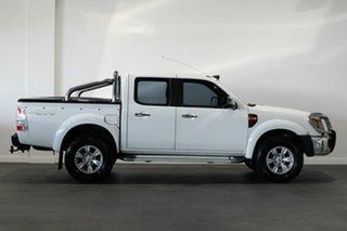 2010 Ford Ranger PK XLT Crew Cab White 5 Speed Manual Utility