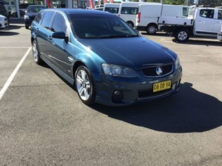 2011 Holden Commodore VE II SV6 Sportwagon Blue 6 Speed Sports Automatic Wagon.