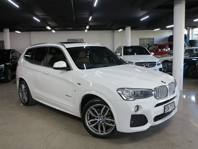 Used BMW X3 F25 LCI MY0414 xDrive30d Steptronic Albion, 2015 BMW X3 F25 LCI MY0414 xDrive30d Steptronic White 8 Speed Sports Automatic Wagon